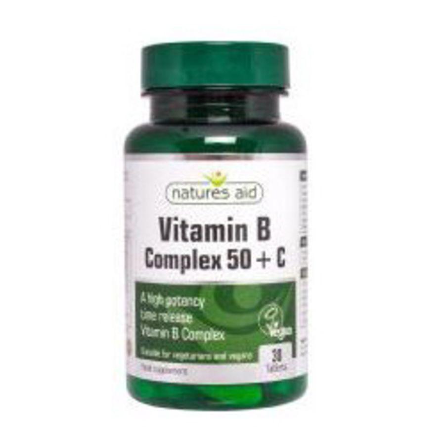 Natures Aid Vitamin B & Vitamin C
