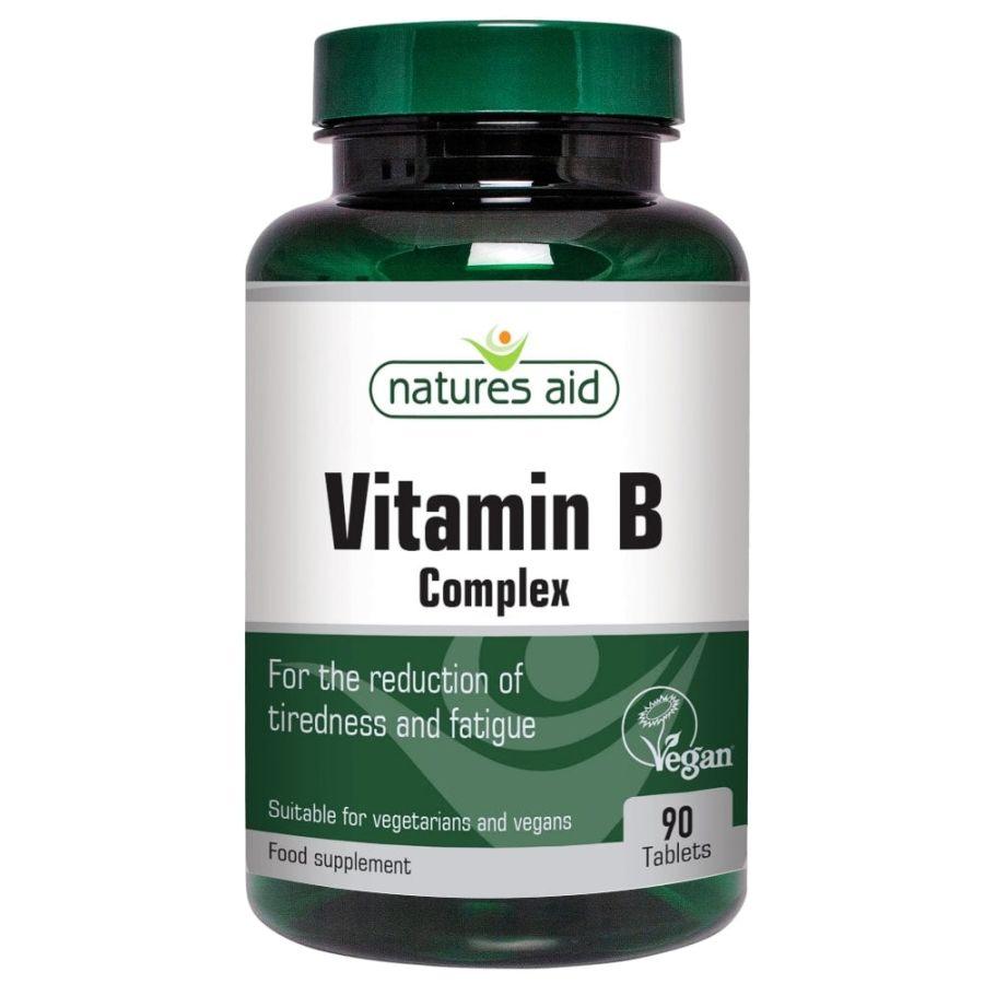 Natures Aid Vitamin B Complex 90 tablets