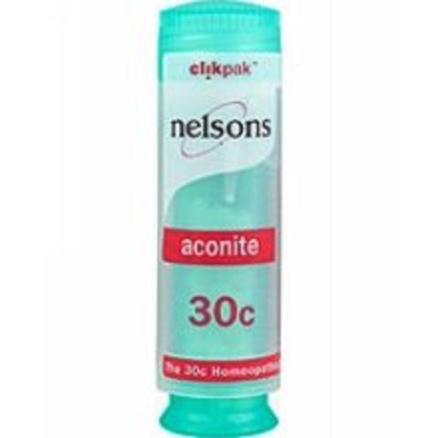Nelsons Aconite 30C - 84 Homeopathic Pillules