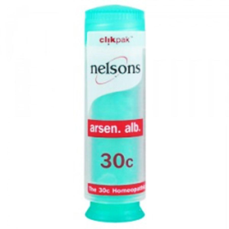 Nelsons Arsen alb 30C - 84 Homeopathic Pillules