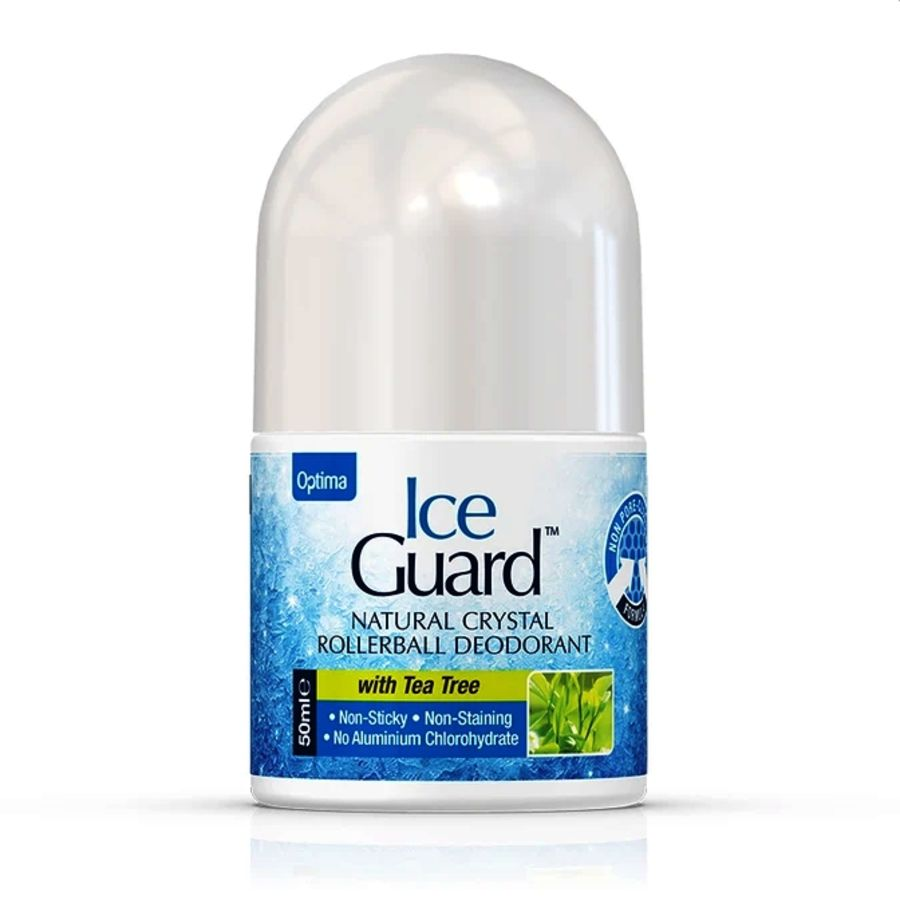 Optima Ice Guard Natural Crystal Rollerball Deodorant