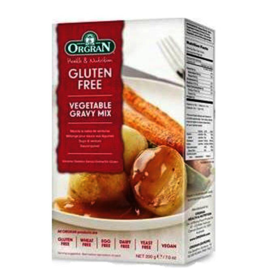 Orgran Gluten Free Vegetable Gravy Mix 200g