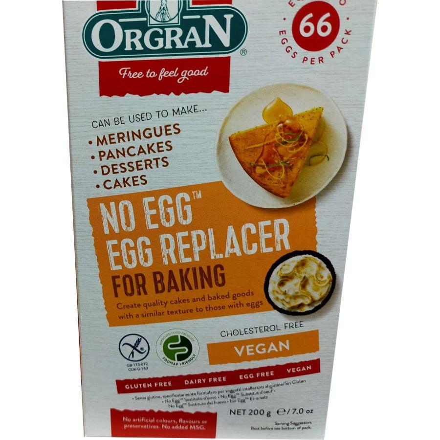 Orgran Gluten Free No Egg Replacer 200g