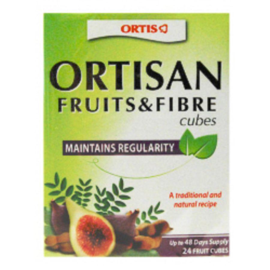 Ortis Fruits And Fibres Regular Digestive Health 12 Cubes