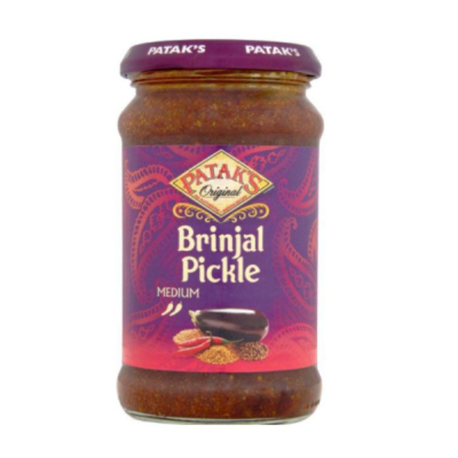 Pataks Aubergine (Bringal) Pickle 212g