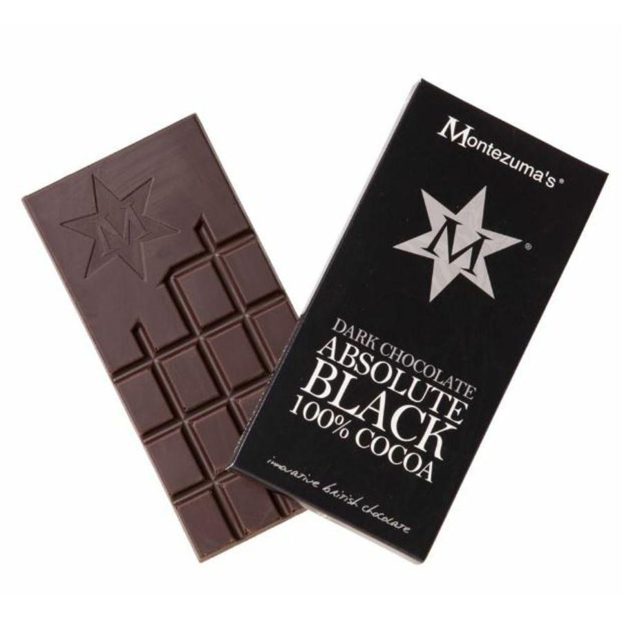 Montezuma's Absolute Black 100% Cocoa 90g