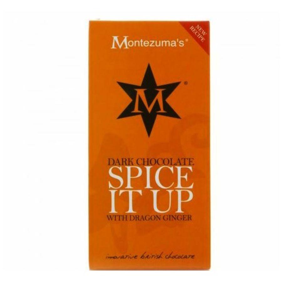 Montezuma's Spice It Up Dark Chocolate Bar 90g