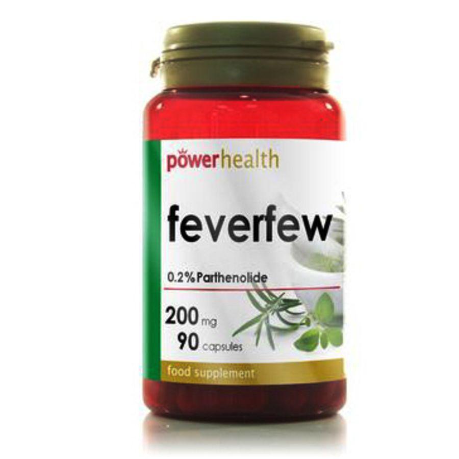 Power Health Feverfew 200mg 90 capsules
