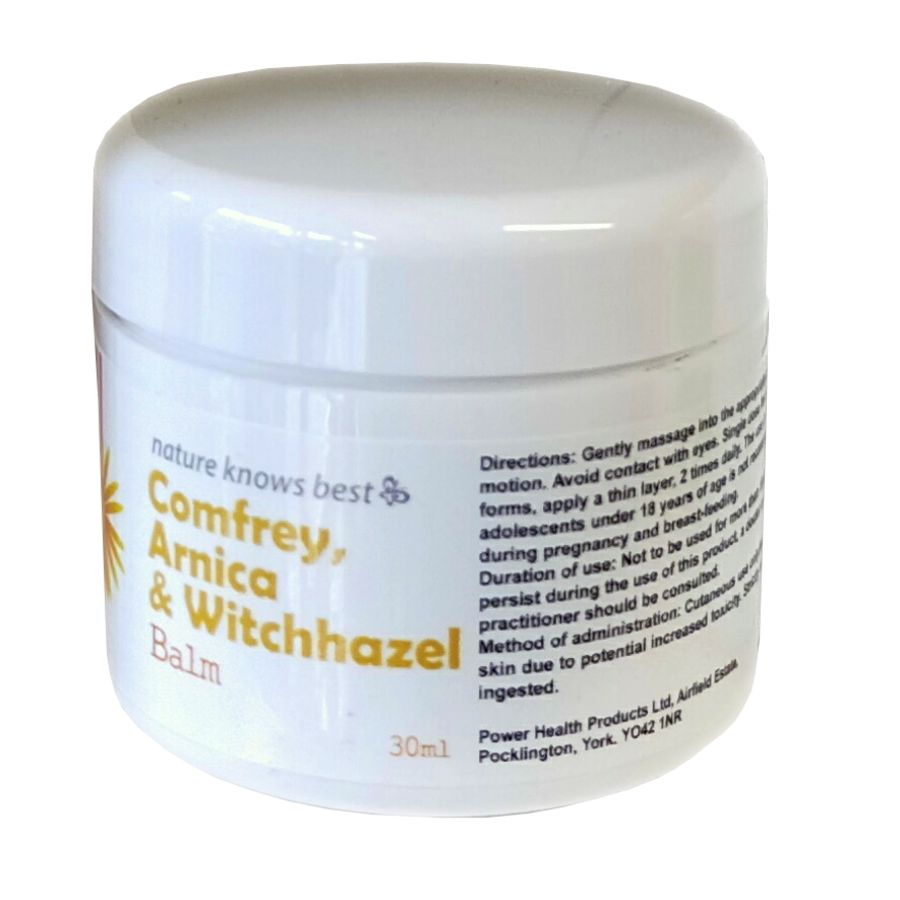 Nature Knows Best Comfrey, Arnica & Witch Hazel Balm