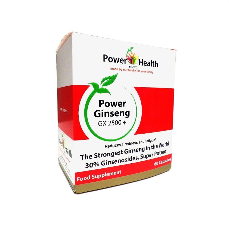 Power Health Power Ginseng GX2500+ 30 capsules
