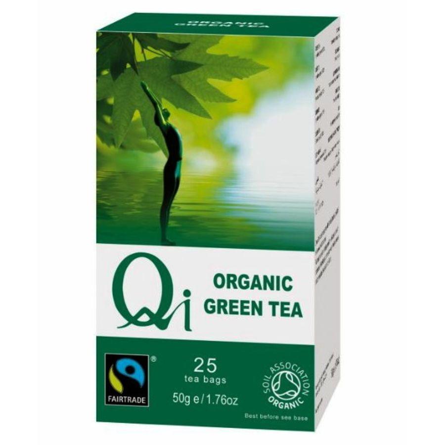 Qi Organic Organic Green Tea 25 teabags