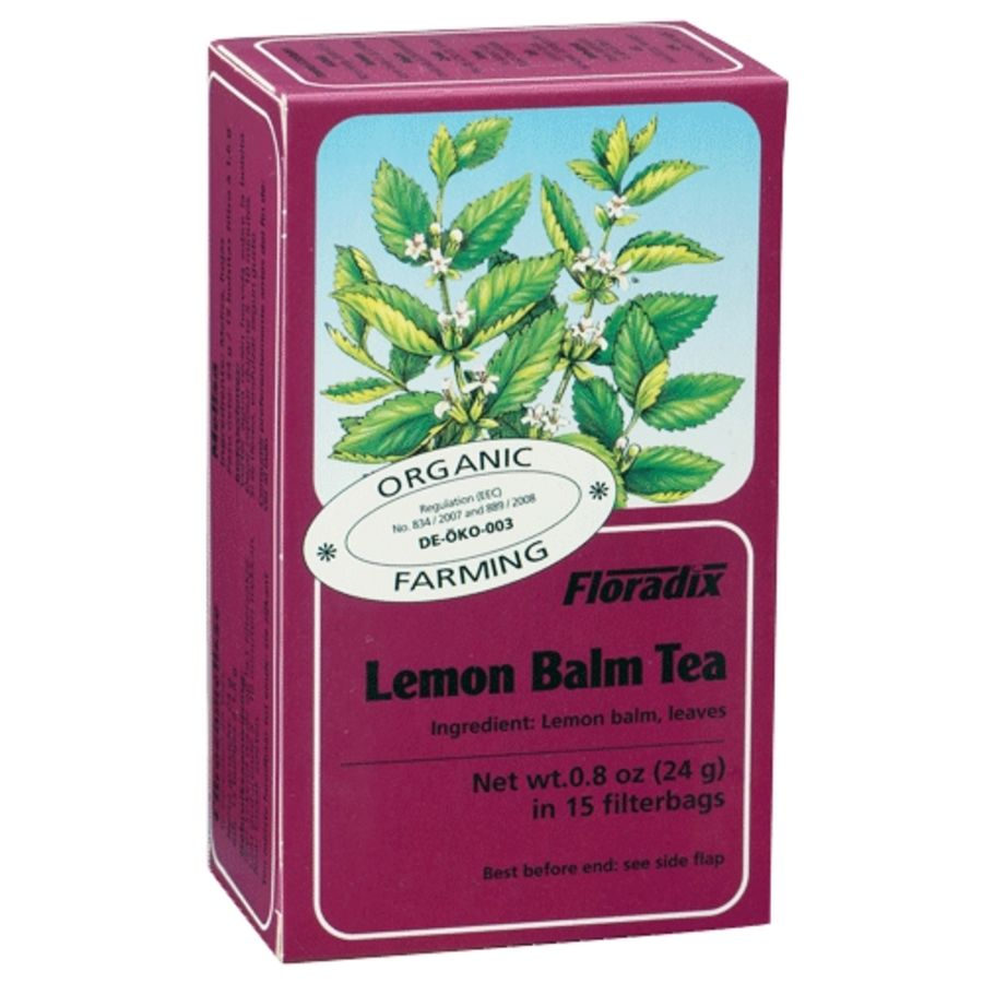 Salus Floradix Organic Lemon Balm Tea