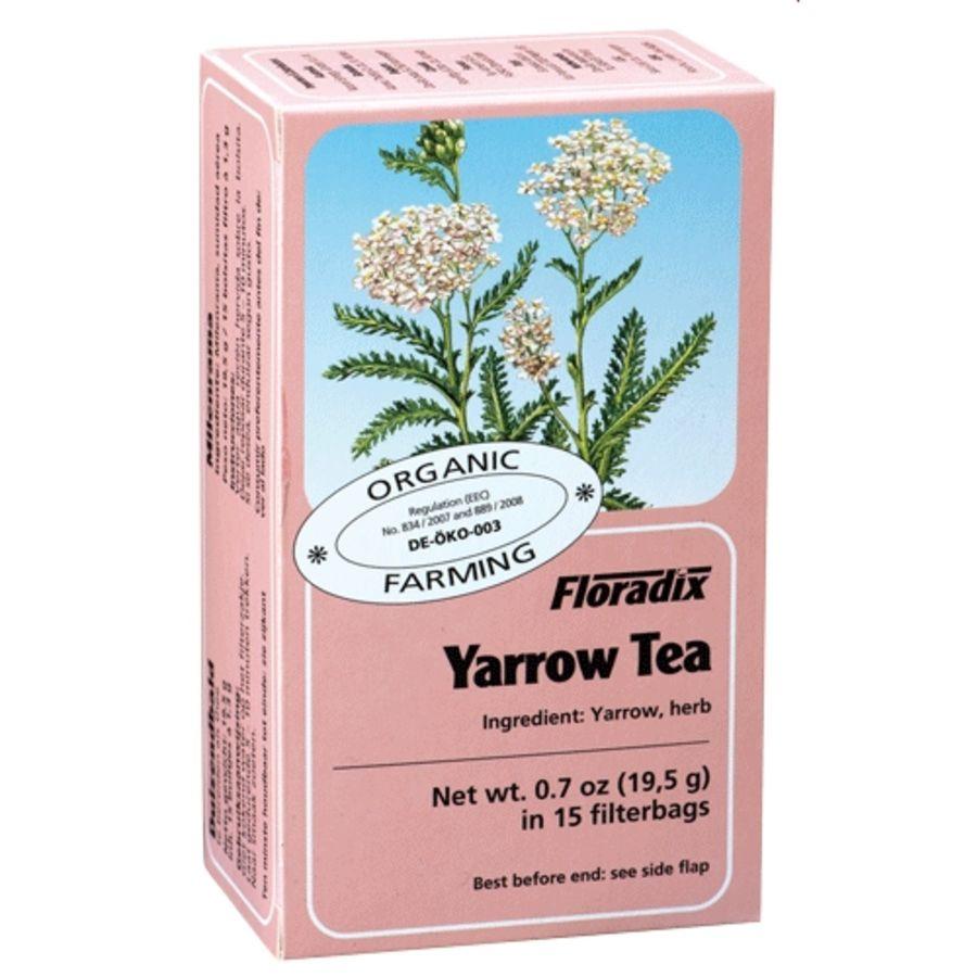 Floradix Organic Yarrow Herbal Tea 15 teabags