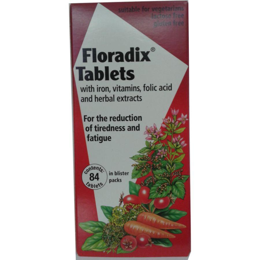 Floradix Tablets 84 tablets