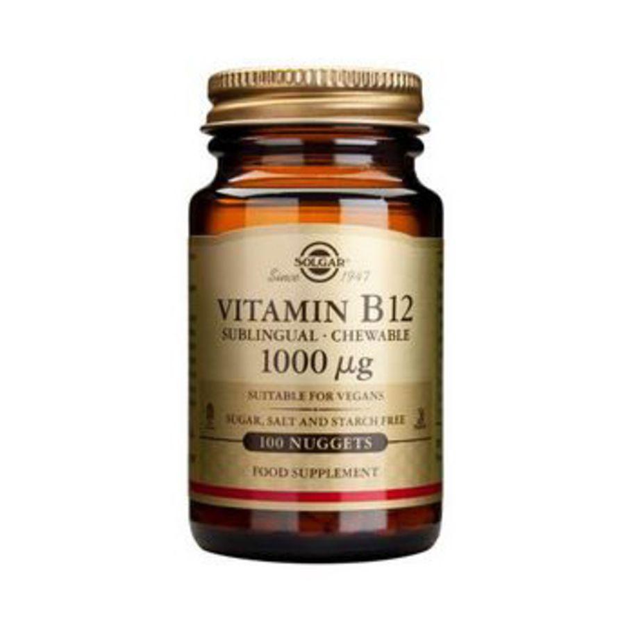 Solgar Vitamin B12 1000Ug 100 nuggets