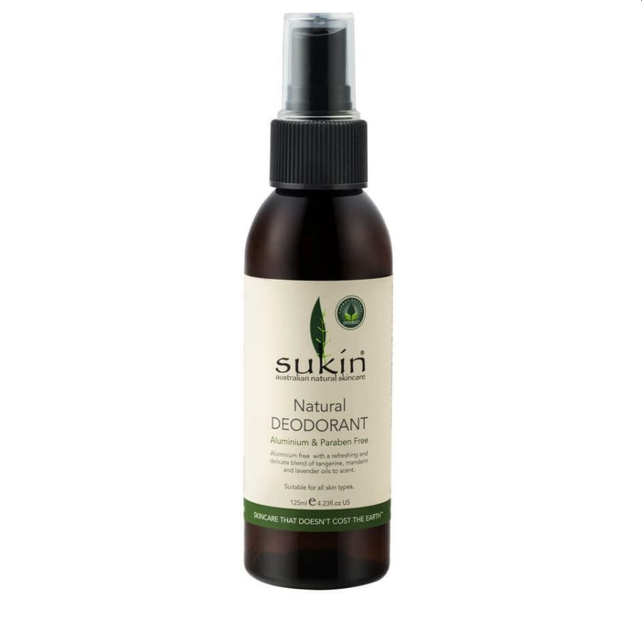 Sukin Natural Deodorant Spray 125mls