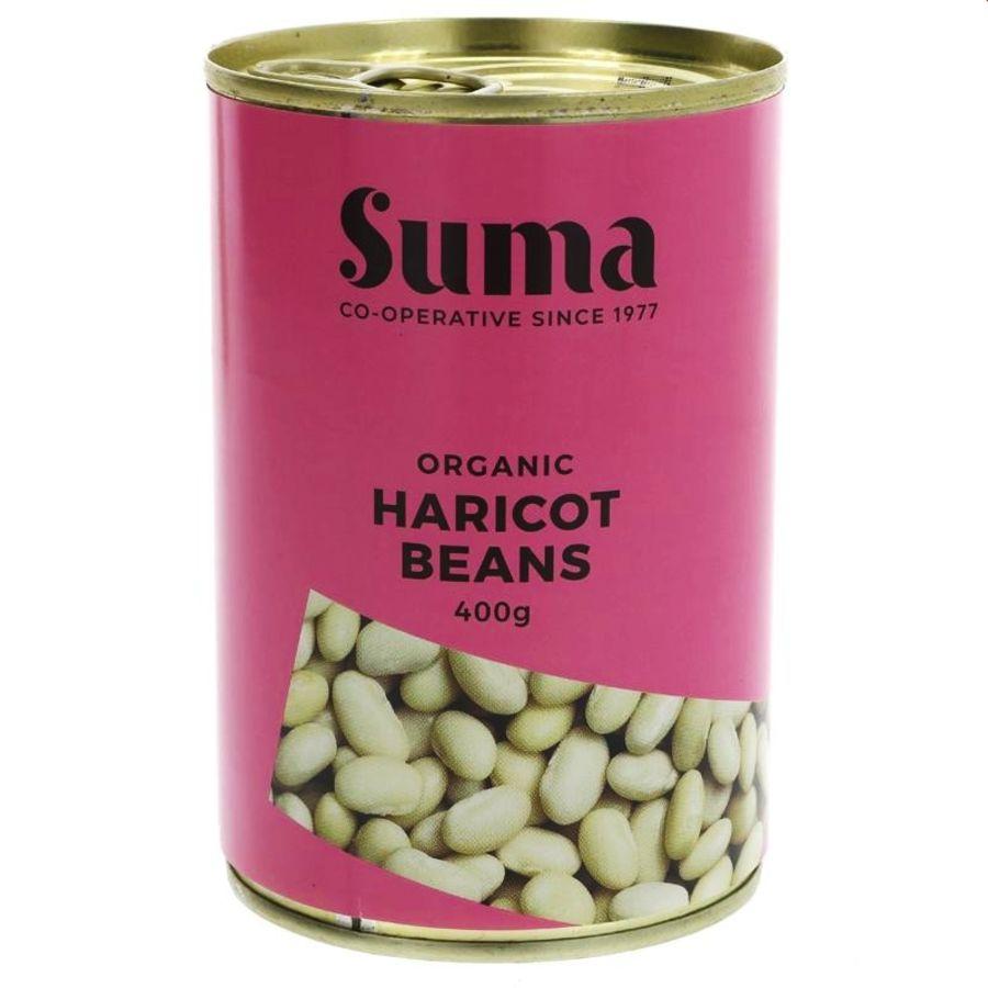Suma Fairtrade Organic Haricot Beans 400g