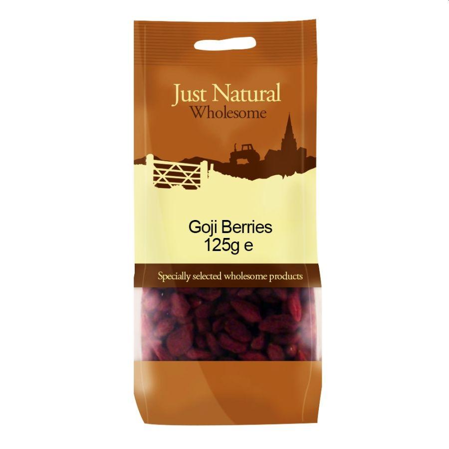Just Natural Goji Berries 125g