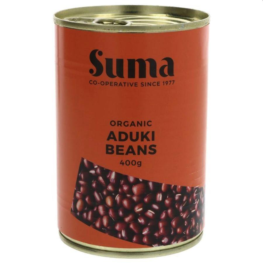 Suma Organic Aduki Beans 400g