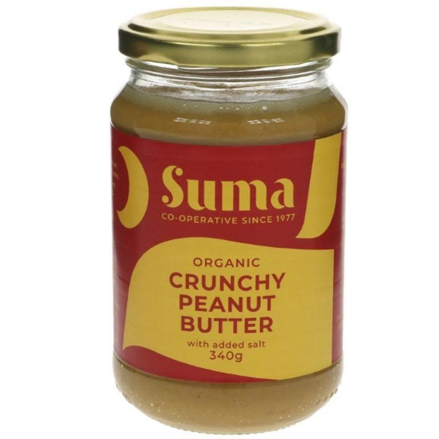 Suma Organic Peanut Butter - Crunchy & Salted