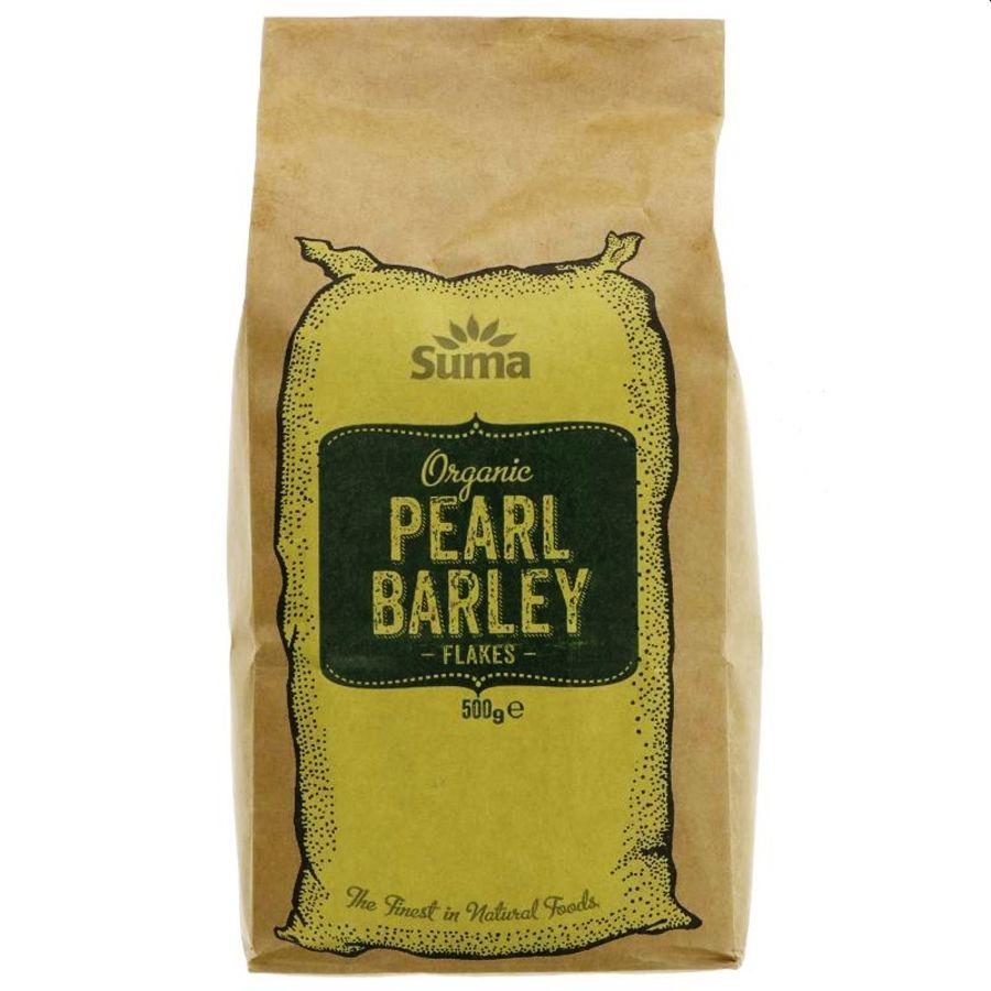Suma Organic Pearl Barley Flakes 500g