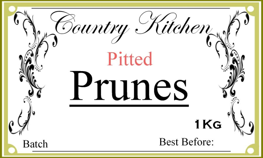 Country Kitchen Pitted Prunes 1kg