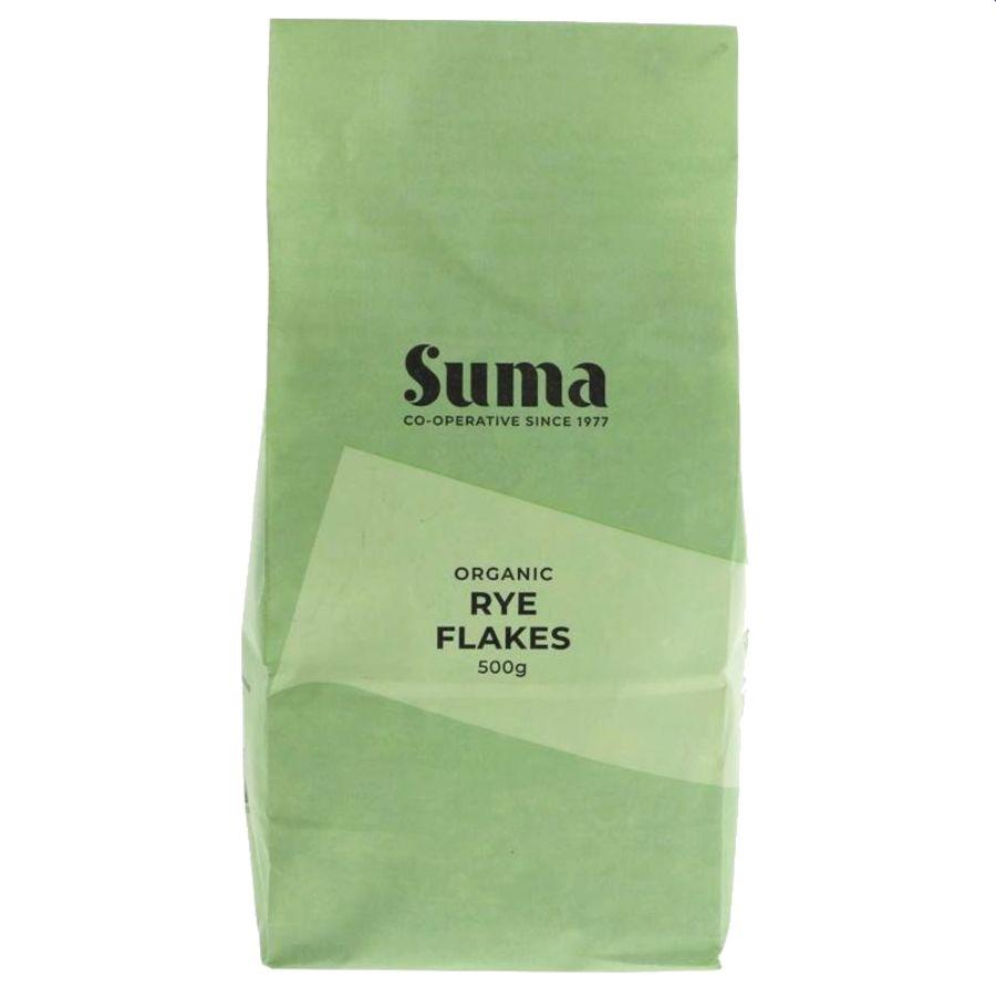 Suma Organic Rye Flakes 500g