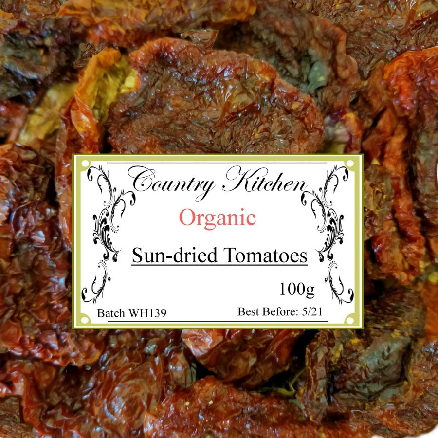 Country Kitchen Organic Sundried Tomatoes 100g