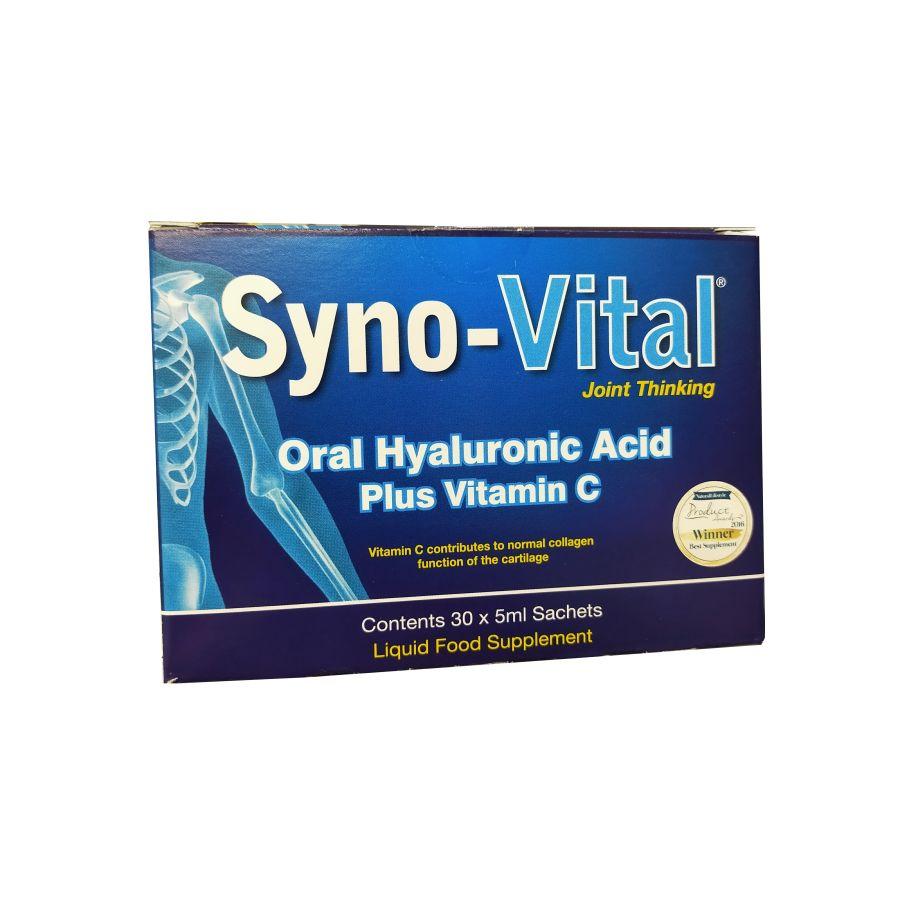 Syno-Vital™ Oral Hyaluronic Acid + Vitamin C 30 x 50ml sachets