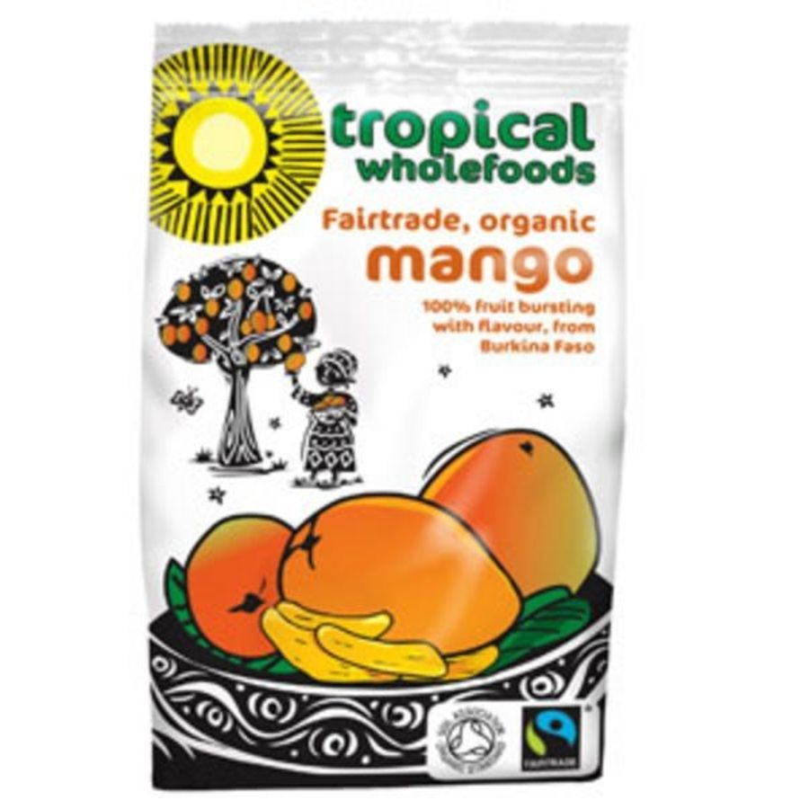 Tropical Wholefood Organic Dried Mango 100g