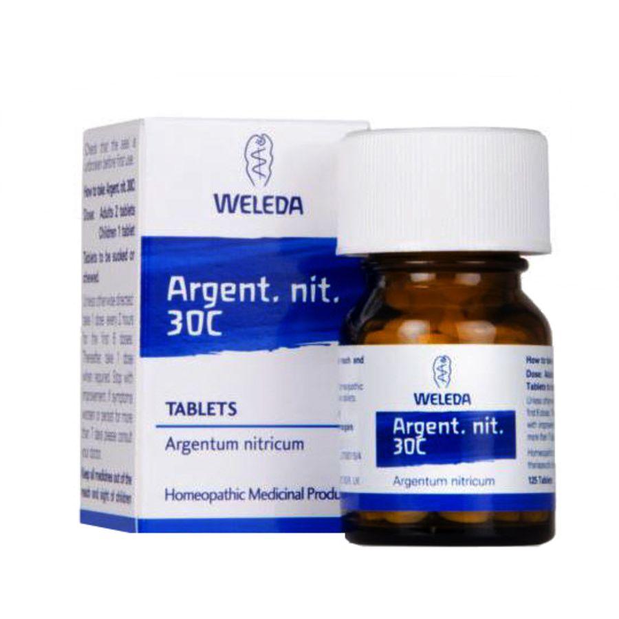 Weleda Argent nit 30C - 125 homeopathic tablets