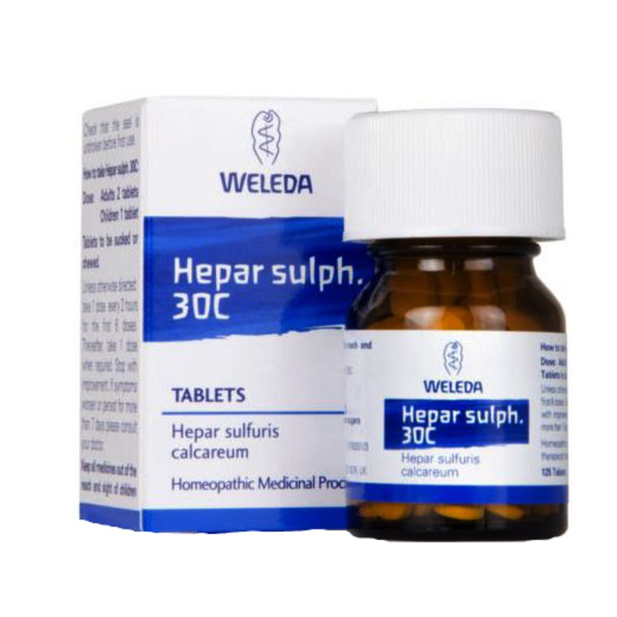 Weleda Sulphur 30C Homeopathic 125 tablets
