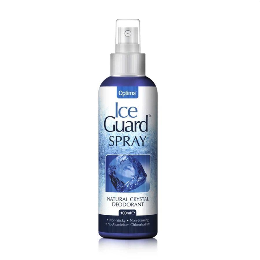 Optima Ice Guard Natural Crystal Deodorant 100mls