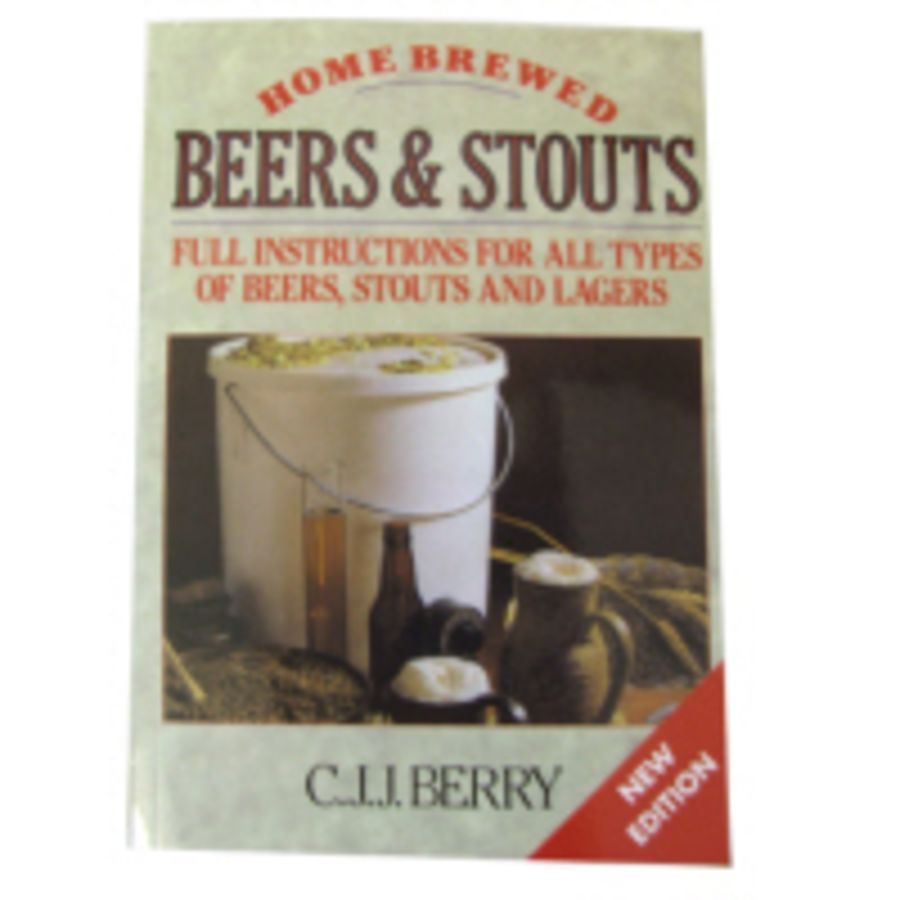 Home Brewed Beers and Stouts Book by CJJ Berry