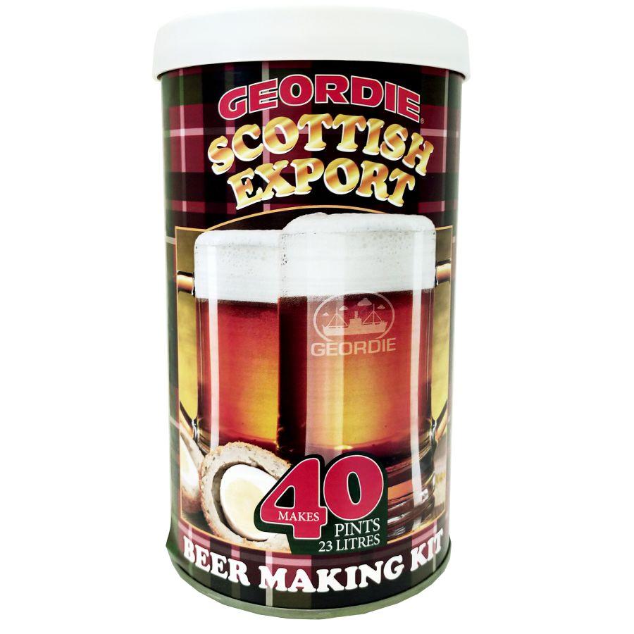 Geordie Scottish Export 40 Pint Beer Kit