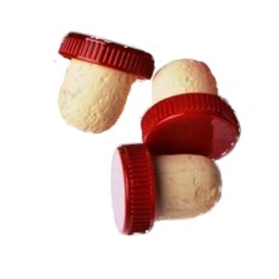 Youngs 25 Plastic Topped Flanged Corks