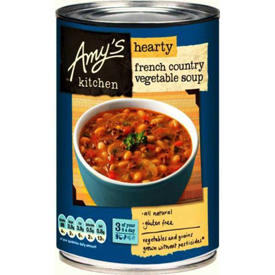 Amy's Kitchen Organic French Country Vegetable Soup 408g