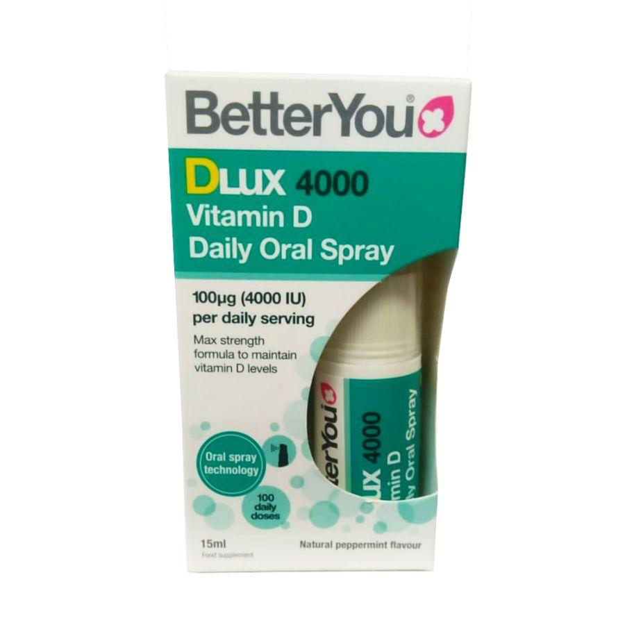 Better You DLux 4000 Vitamin D Spray 15mls