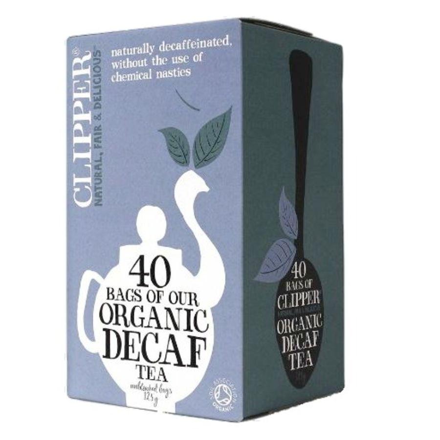 Clipper Organic Decaffeinated Everyday Tea 40