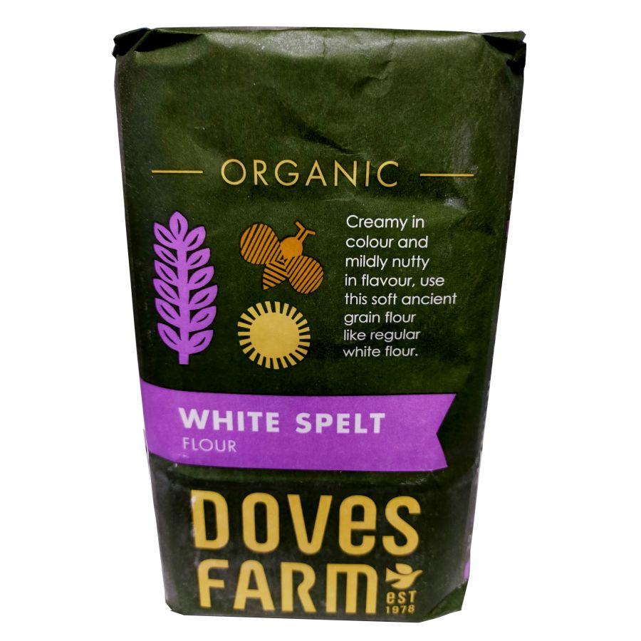 Doves Farm Spelt Flour White Organic 1Kg