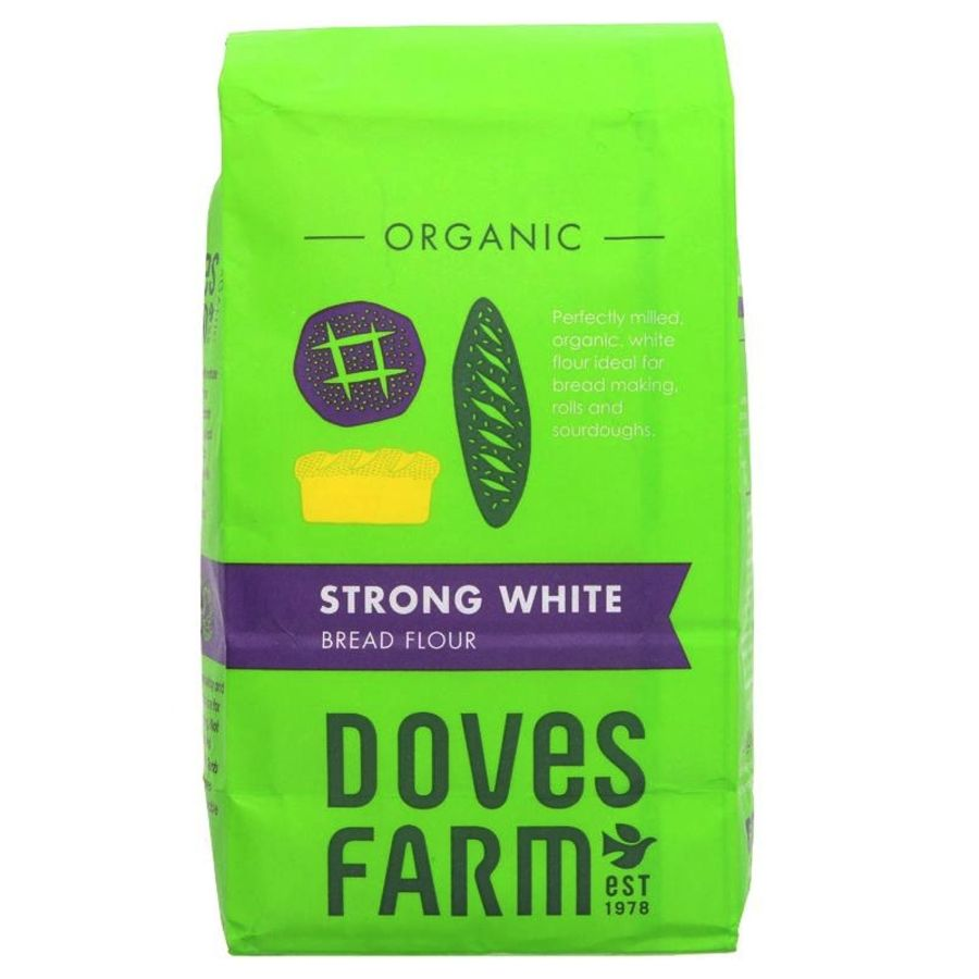 Doves Farm Strong White Bread Flour 1.5Kg