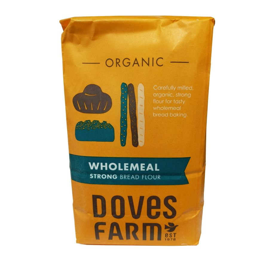 Doves Farm Strong Wholemeal Bread Flour 1.5Kg