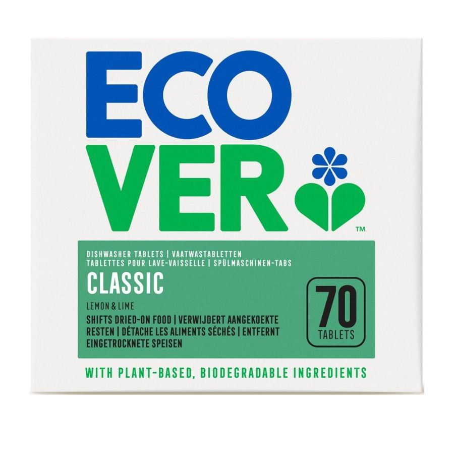Ecover Dishwasher Tablets Classic 70