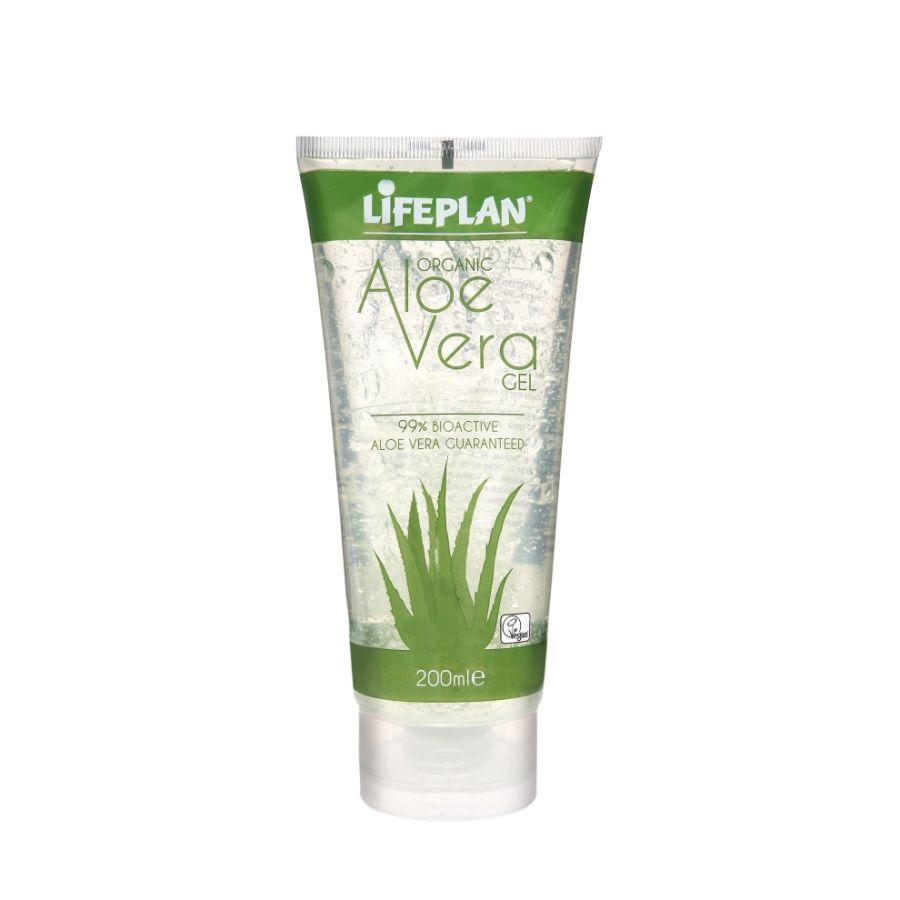 Lifeplan Organic Aloe Vera Gel 200mls