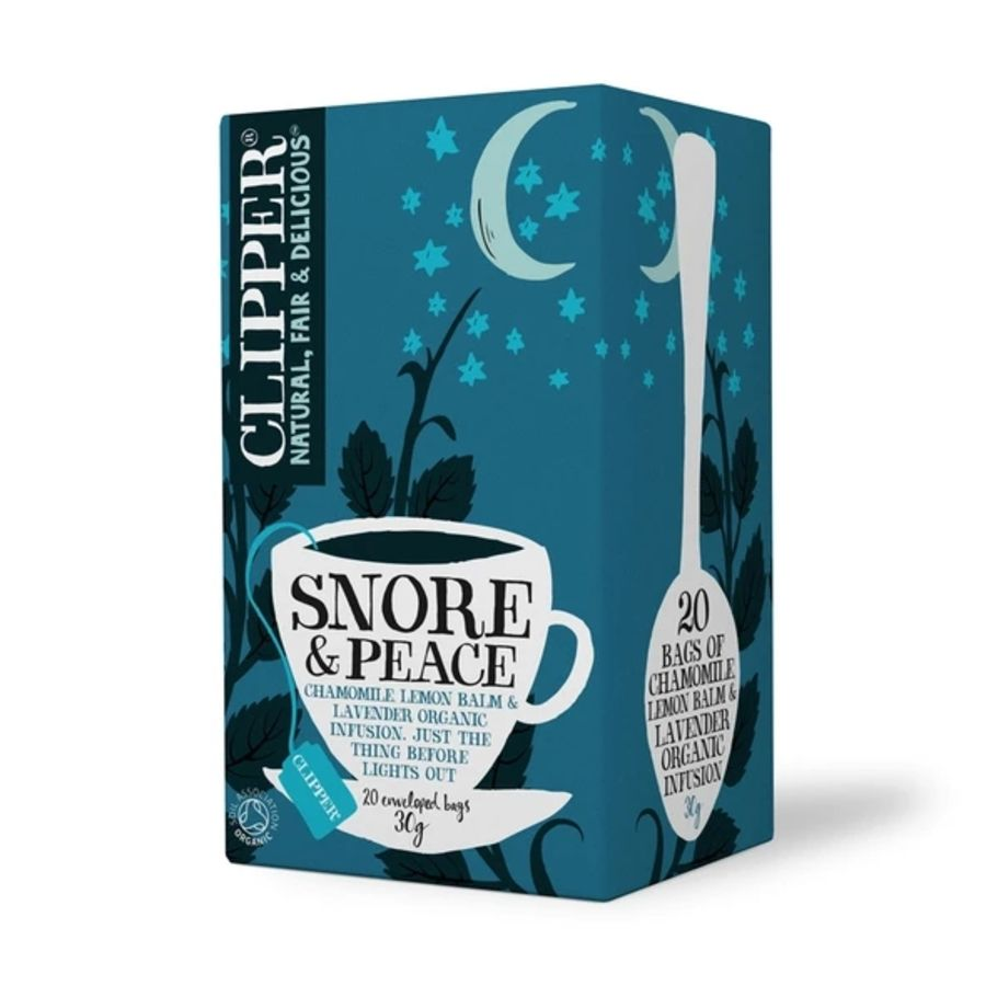 Clipper Organic Snore & Peace Infusion 20 teabags