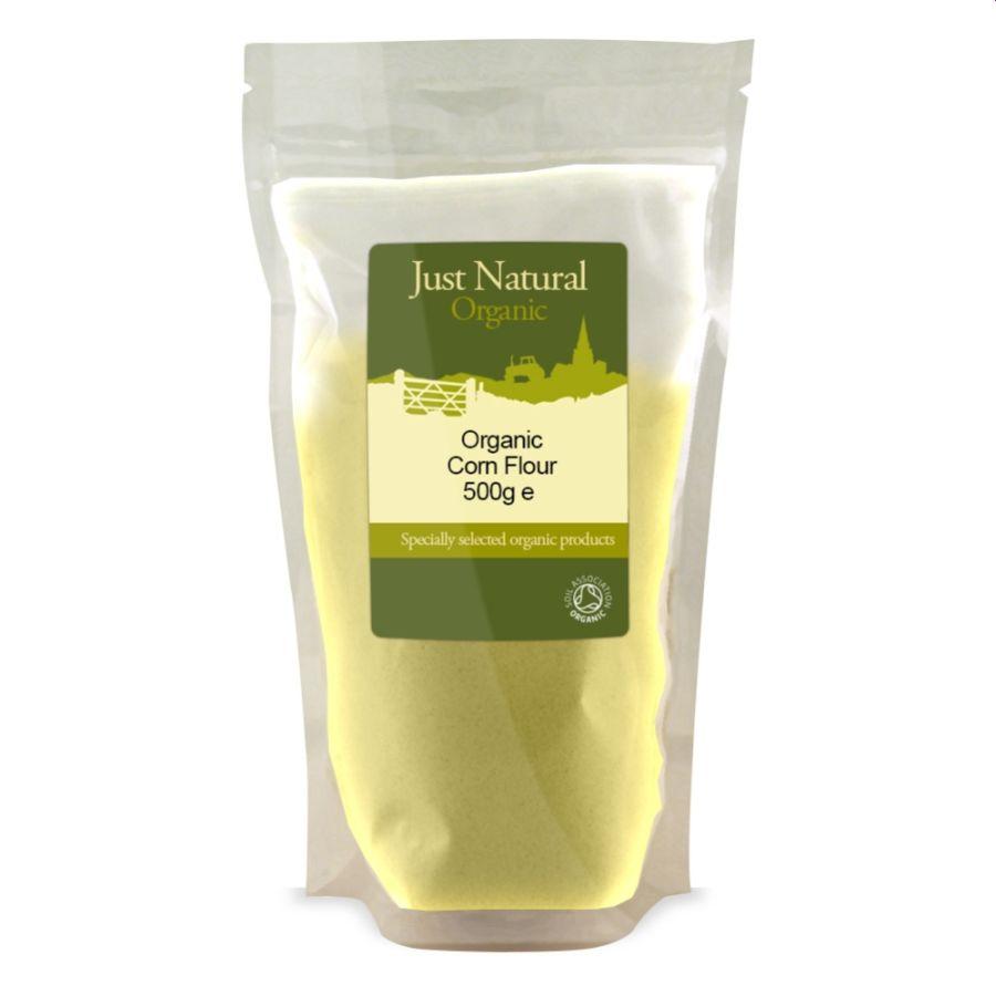 Just Natural Organic Cornflour 500g