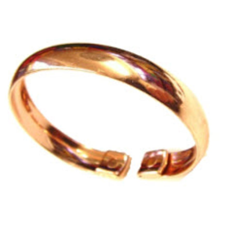 Laurence Butler Small Plain Copper Magnetic Band