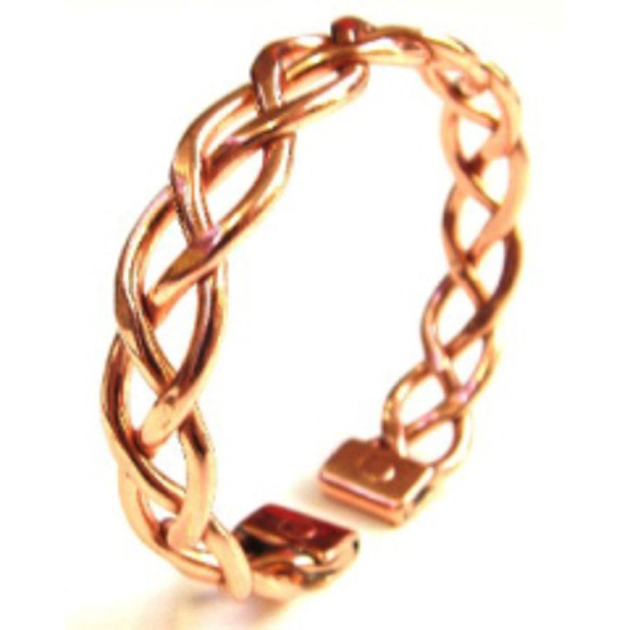 Laurence Butler Copper Magnetic Heavy Lace Bracelet