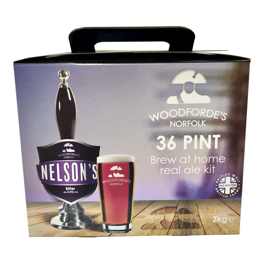 Woodforde's Nelsons Beer Kit