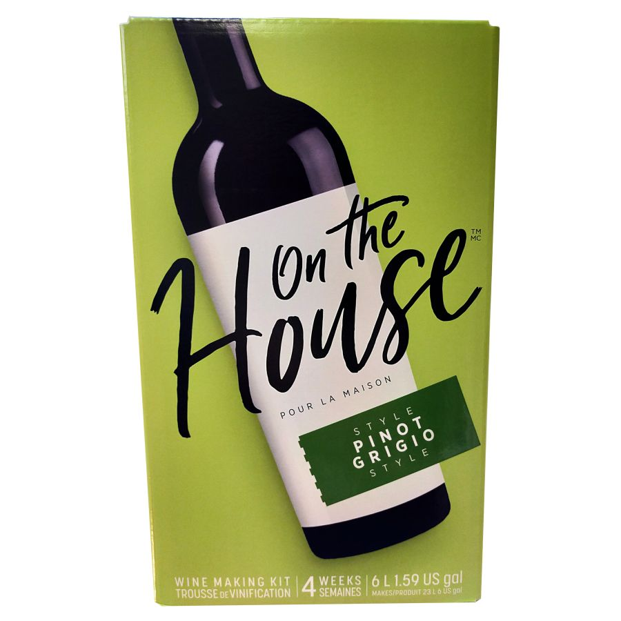 On the House - Pinot Grigio 6 Litres